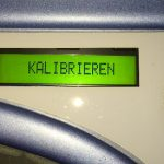 Babolat Sensor Dual Kalibrieren
